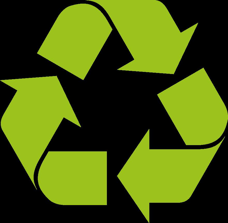 100% recycelte Restbestände